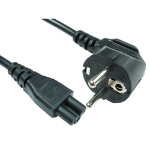 Cables Direct RB-292W power cable Black 2 m CEE7/14 C5 coupler