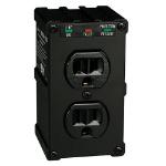 Tripp Lite Ultrablok428 surge protector 2 AC outlet(s) 120 V Black