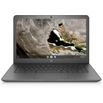 "HP Chromebook 14A G5 Grey 35.6 cm (14"") 1920 x 1080 pixels Touchscreen 7th Generation AMD A4-Series APUs A4-9120C 4 GB DDR4-SDRAM 32 GB eMMC"