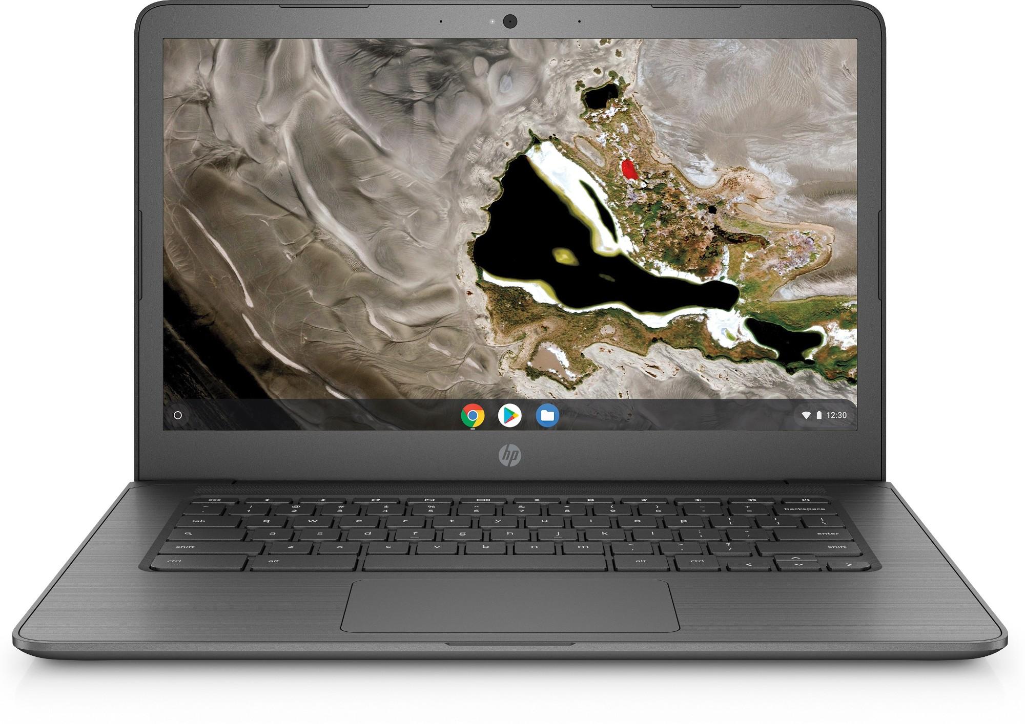 """HP Chromebook 14A G5 Grey 35.6 cm (14"""") 1920 x 1080 pixels Touchscreen 7th Generation AMD A4-Series APUs A4-9120C 4 GB DDR4-SDRAM 32 GB eMMC Chrome OS"""