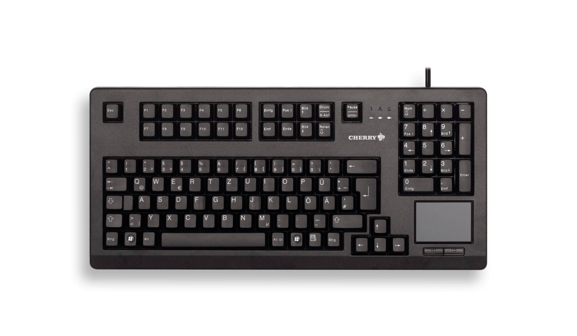 CHERRY TouchBoard G80-11900 USB QWERTY English Black