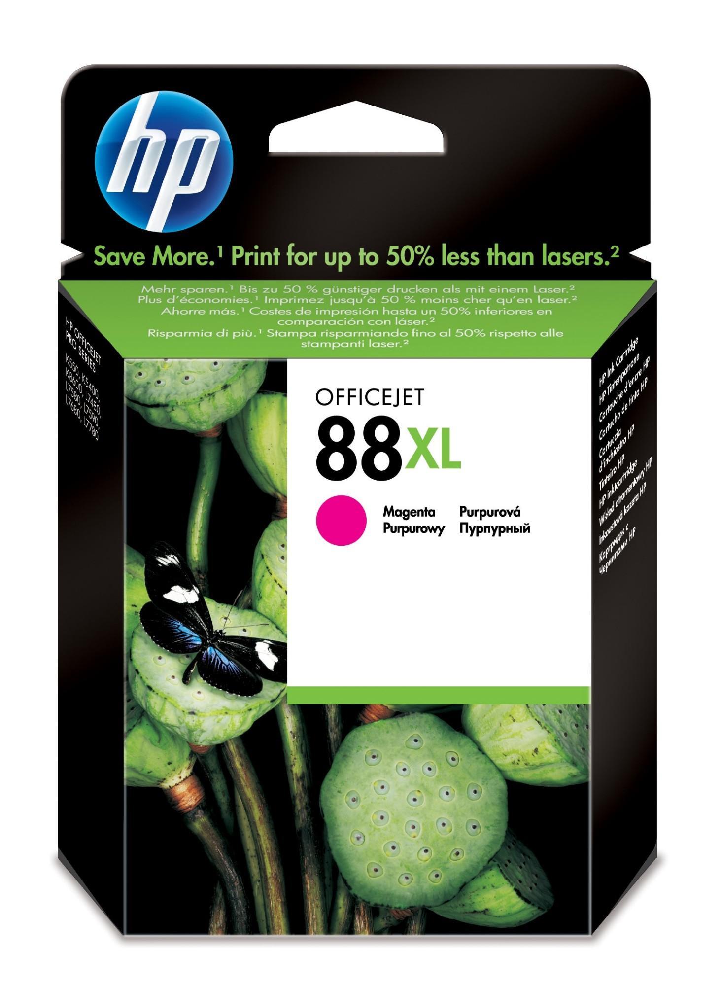 HP 88XL Origineel Magenta 1 stuk(s)