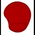 Trust 20429 alfombrilla para ratón Rojo
