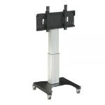 Loxit Hi-Lo Mono 500 Mobile Screen Lift Black, Stainless steel Multimedia cart