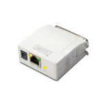 Digitus DN-13001-1 print server Ethernet LAN White