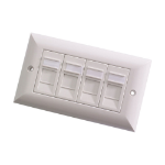 Videk 4297 wall plate/switch cover White