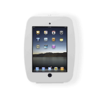 Maclocks Apple iPad 2/3/4 Space Enclosure Series Wall Mount Case - White - (224SENW)