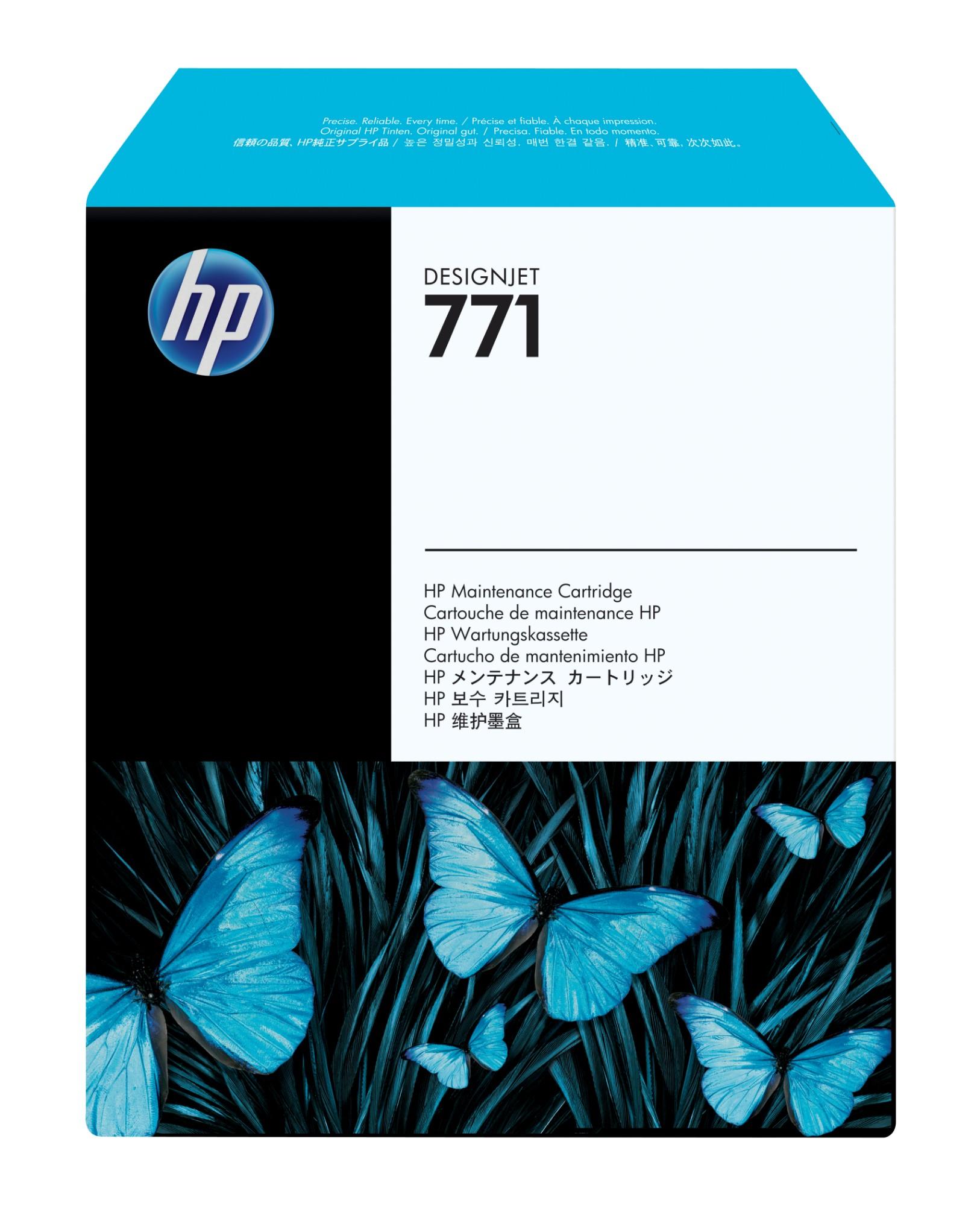 HP 771 DesignJet onderhoudscartridge