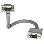 C2G 2m Monitor HD15 M/M cable 2m VGA (D-Sub) Grey SCSI cable