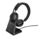 Jabra Evolve2 65, MS Stereo Auriculares Diadema USB Tipo C Bluetooth Negro