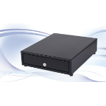 International Cash Drawer SS-102 Acrylonitrile butadiene styrene (ABS),Steel Black cash box tray