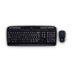 Logitech MK330 RF Wireless QWERTY Spanish Black,Grey