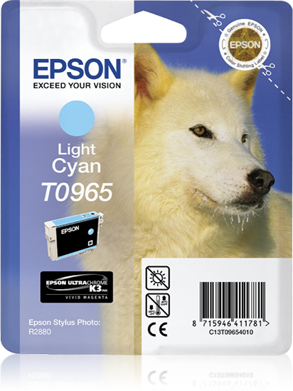 Epson Husky inktpatroon Light Cyan T0965