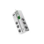 APC PM6U-IT surge protector White 6 AC outlet(s) 230 V 2 m
