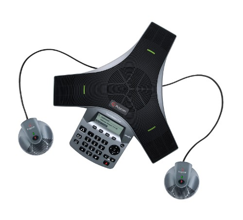 POLY SoundStation Duo IP phone Black,Grey LED