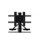 "SoundXtra SDXBSB57ATV1021 flat panel floorstand 165.1 cm (65"") Fixed flat panel floor stand Black"