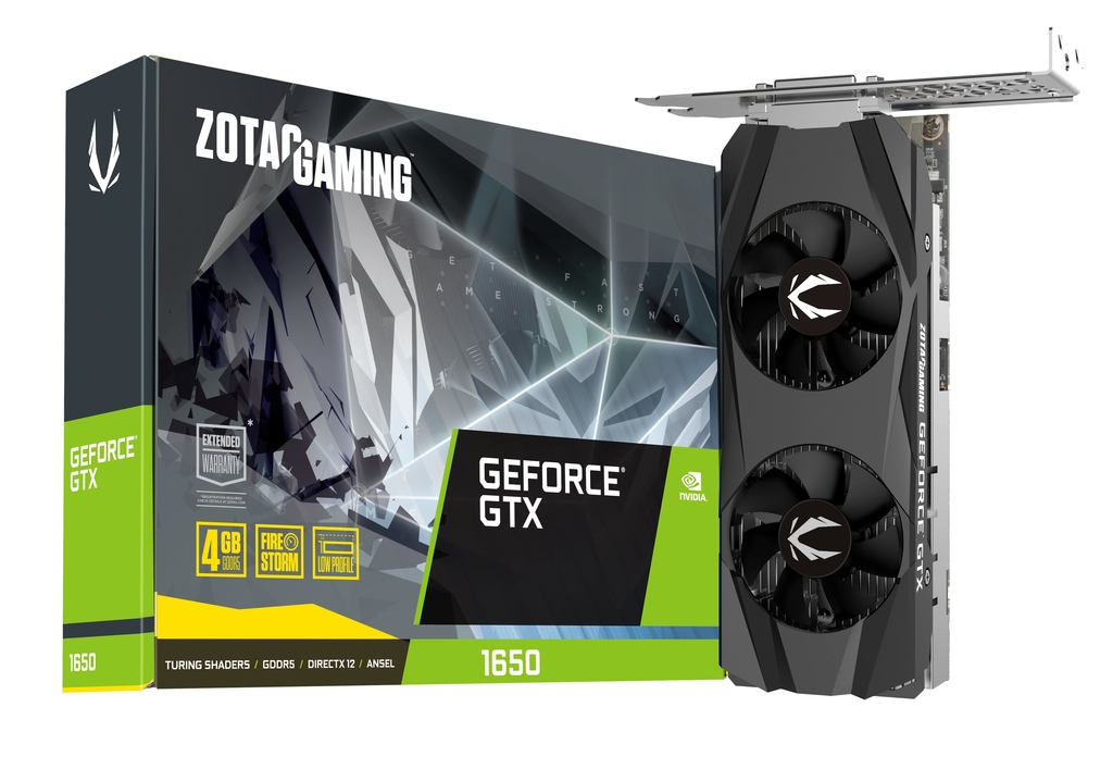 ZOTAC ZT-T16500H-10L GRAPHICS CARD GEFORCE GTX 1650 4 GB GDDR5