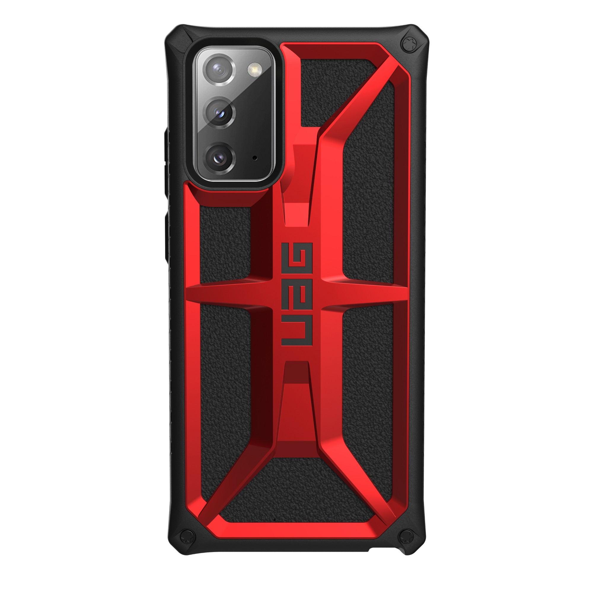 "Urban Armor Gear Monarch funda para teléfono móvil 17 cm (6.7"") Negro, Rojo"