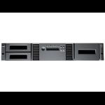 Hewlett Packard Enterprise StoreEver MSL2024 1 LTO-5 Ultrium 3000 FC Library w/24 LTO-5 Media/TVlite tape auto loader/library 36000 GB 2U Black