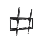 "Proper Tilting TV Bracket for Flat and Curved 32''-55'' 55"" Black flat panel wall mount"