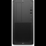 HP Z2 Tower G5 DDR4-SDRAM i7-10700 10th gen Intel® Core™ i7 16 GB 512 GB SSD Windows 10 Pro for Workstations Workstation Black