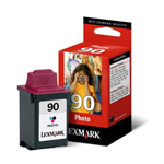 Lexmark 12A1990E (90) Printhead photo, 800 pages, 21ml