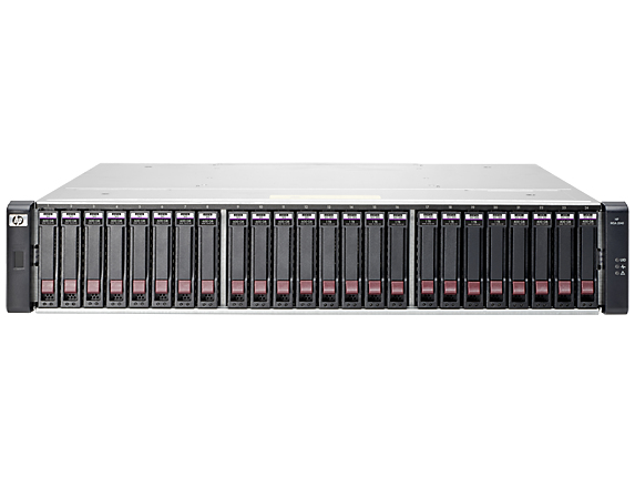 Hewlett Packard Enterprise MSA 2040 Energy Star SAS Dual Controller SFF Storage Rack (2U) disk array