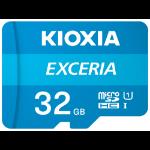 Kioxia Exceria memory card 32 GB MicroSDHC Class 10 UHS-I