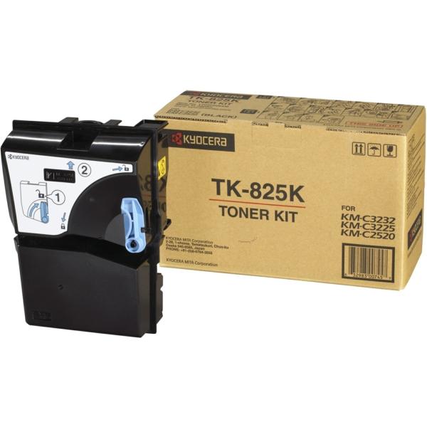 KYOCERA 1T02FZ0EU0 (TK-825 K) Toner black, 15K pages