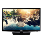 "Samsung HG24NE690AF 24"" HD Smart TV Wi-Fi Black"