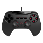 SPEEDLINK Strike NX Wired Gamepad for PS3, Black (SL-440400-BK)