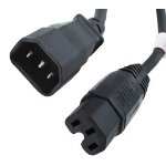 Origin Storage 2m C14M-C15F power cable C14 coupler C15 coupler