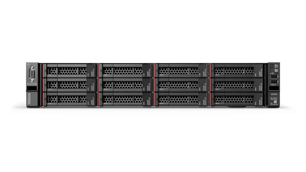 Lenovo ThinkSystem SR550 1.8GHz Rack (2U) 4108 Intel® Xeon® 750W server