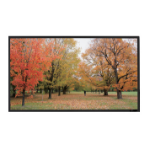 Sapphire Slim Bezel Fixed Frame Screen 2037 x 1273mm 16:10 format