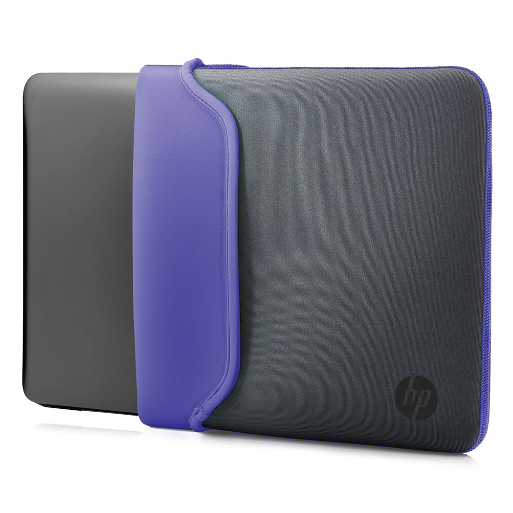 "HP 11.6"" Neoprene Sleeve Gray/Purple 11.6"" Sleeve Grey,Purple"