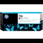 HP 728B 300-ml Matte Black DesignJet ink cartridge 1 pc(s) Original