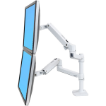 "Ergotron LX Series 45-492-216 24"" White flat panel desk mount"