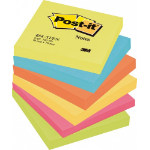 Post-It 654-TFEN self-adhesive note paper Square Multicolour 100 sheets