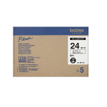 Brother HG-651V5 P-Touch Ribbon, 24mm x 8m, Pack qty 5