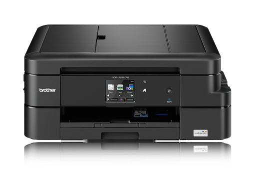 Dcp-j785dw - Colour Multi Function Printer - Inject - A4 - USB / Ethernet / Wifi / Airprint / Iprint&scan