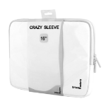 "Urban Factory MSC15UF notebook case 40.6 cm (16"") Sleeve case White"