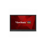"Viewsonic IFP6560 Interactive flat panel 65"" LED 4K Ultra HD Black signage display"