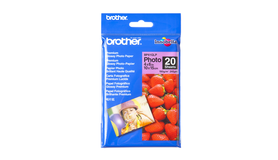 Brother 10 cm x 15 cm Glossy Paper