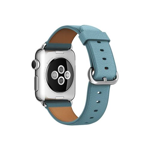 Apple 38mm Classic Buckle - Watch strap - fjord blue - for Watch (38 mm), Watch Edition (38 mm), Watch Her