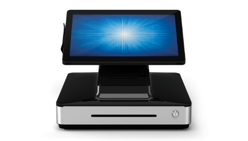 "Elo Touch Solution PayPoint Plus 39.6 cm (15.6"") 1920 x 1080 pixels Touchscreen i5-8500T All-in-one Black,Grey"