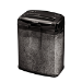 Fellowes M-7Cm triturador de papel Particle-cut shredding Negro