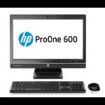 "HP ProOne 600 G1 54.6 cm (21.5"") 4th gen Intel® Core™ i3 4 GB DDR3-SDRAM 500 GB HDD Windows 7 Professional All-in-One PC Black"