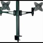 Astrotek Monitor Stand Desk Mount 36cm Arm for Dual Screens 13'-27' 15kg 30° tilt 180° swivel 360° rotate VES