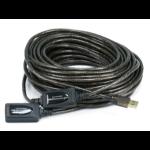 "Monoprice USB 2.0/USB 2.0, M/F, 19.812 m USB cable 780"" (19.8 m) USB A Black"