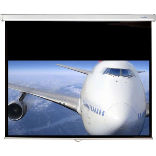 Sapphire SWS180WSF projection screen Black,White 195.6 cm (77